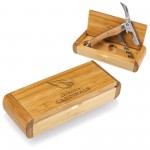 ARIZONA CARDINALS CORKSCREW IN BAMBOO BOX