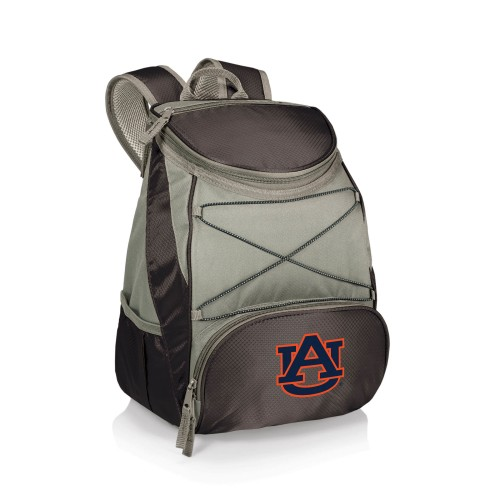AUBURN TIGERS – PTX BACKPACK COOLER, (BLACK WITH GRAY ACCENTS)