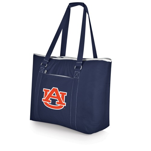 AUBURN TIGERS – TAHOE XL COOLER TOTE BAG, (NAVY BLUE)