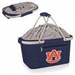 AUBURN TIGERS – METRO BASKET COLLAPSIBLE COOLER TOTE, (NAVY BLUE)