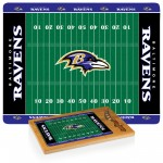 BALTIMORE RAVENS – ICON GLASS TOP CUTTING BOARD & KNIFE SET