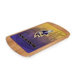BALTIMORE RAVENS – BILLBOARD GLASS TOP SERVING TRAY