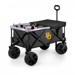BAYLOR BEARS – ADVENTURE WAGON ELITE ALL-TERRAIN PORTABLE UTILITY WAGON, (DARK GRAY)