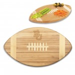 BAYLOR BEARS – TOUCHDOWN! FOOTBALL CUTTING BOARD & SERVING TRAY, (BAMBOO)