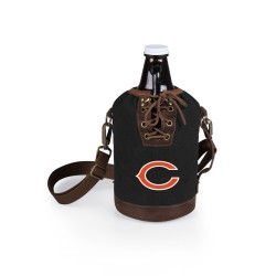 CHICAGO BEARS – INSULATED GROWLER TOTE WITH 64 OZ. GLASS GROWLER