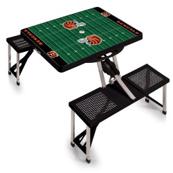 CINCINNATI BENGALS – PICNIC TABLE PORTABLE FOLDING TABLE WITH SEATS
