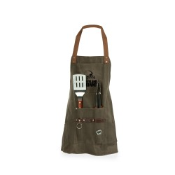 CLEVELAND BROWNS – BBQ APRON WITH TOOLS & BOTTLE OPENER