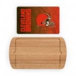 CLEVELAND BROWNS – BILLBOARD GLASS TOP SERVING TRAY