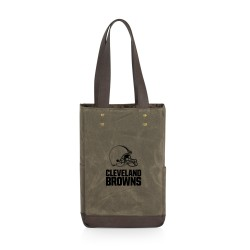 CLEVELAND BROWNS – 2 BOTTLE INSULATED WINE COOLER BAG