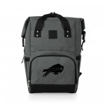 BUFFALO BILLS – ON THE GO ROLL-TOP COOLER BACKPACK