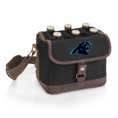 CAROLINA PANTHERS – BEER CADDY COOLER TOTE WITH OPENER
