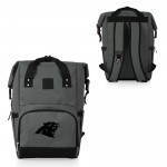 CAROLINA PANTHERS – ON THE GO ROLL-TOP COOLER BACKPACK