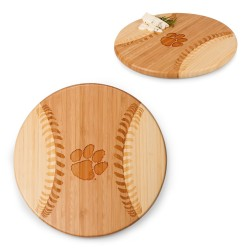 CLEMSON TIGERS –BASEBALL CUTTING BOARD & SERVING TRAY