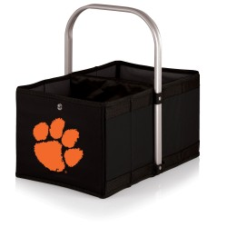 CLEMSON TIGERS – URBAN BASKET COLLAPSIBLE TOTE, (BLACK)