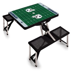 DALLAS COWBOYS – PICNIC TABLE PORTABLE FOLDING TABLE WITH SEATS