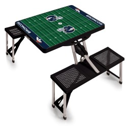 DENVER BRONCOS – PICNIC TABLE PORTABLE FOLDING TABLE WITH SEATS
