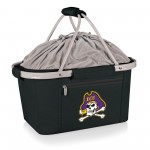 EAST CAROLINA PIRATES – METRO BASKET COLLAPSIBLE COOLER TOTE, (BLACK)