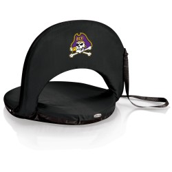 EAST CAROLINA PIRATES – PORTABLE RECLINING SEAT, (BLACK)