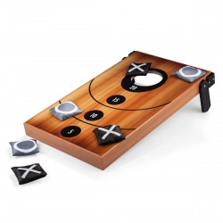 MINI CORNHOLE, (WOOD GRAIN)