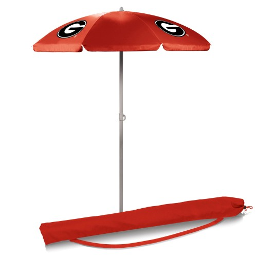 GEORGIA BULLDOGS – PORTABLE BEACH UMBRELLA