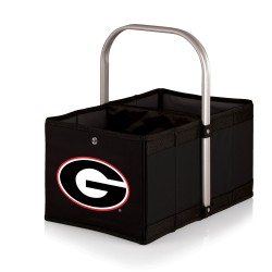 GEORGIA BULLDOGS – URBAN BASKET COLLAPSIBLE TOTE, (BLACK)