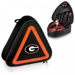 GEORGIA BULLDOGS – ROADSIDE EMERGENCY CAR KIT, (BLACK WITH ORANGE ACCENTS)