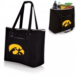 IOWA HAWKEYES – TAHOE XL COOLER TOTE BAG, (BLACK)