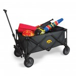 IOWA HAWKEYES – ADVENTURE WAGON PORTABLE UTILITY WAGON, (DARK GRAY)