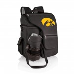 IOWA HAWKEYES – TURISMO TRAVEL BACKPACK COOLER, (BLACK)