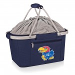 KANSAS JAYHAWKS – METRO BASKET COLLAPSIBLE COOLER TOTE