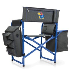 KANSAS JAYHAWKS – FUSION BACKPACK CHAIR WITH COOLER