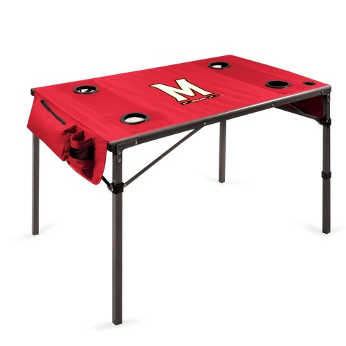 MARYLAND TERRAPINS – TRAVEL TABLE PORTABLE FOLDING TABLE