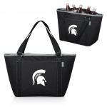 MICHIGAN STATE SPARTANS - COOLER TOTE BAG, (BLACK)