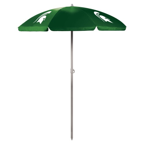 MICHIGAN STATE SPARTANS – 5.5 FT. PORTABLE BEACH UMBRELLA