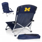 MICHIGAN WOLVERINES – PORTABLE BEACH CHAIR