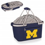 MICHIGAN WOLVERINES – METRO BASKET COLLAPSIBLE COOLER TOTE