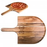 MICHIGAN WOLVERINES – ACACIA PIZZA PEEL SERVING PADDLE, (ACACIA WOOD)