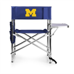 MICHIGAN WOLVERINES – SPORTS CHAIR, (NAVY BLUE)