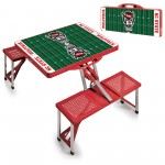 NC STATE WOLFPACK – PICNIC TABLE PORTABLE FOLDING TABLE WITH SEATS