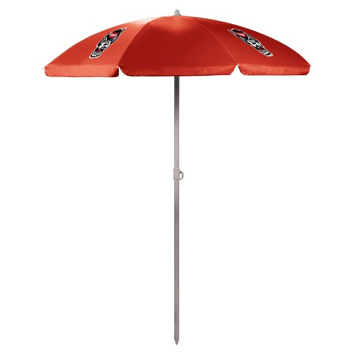 NC STATE WOLFPACK – 5.5 FT. PORTABLE BEACH UMBRELLA