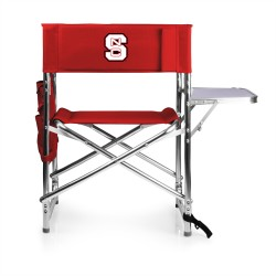 NC STATE WOLFPACK – SPORTS CHAIR, (RED)