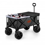 OKLAHOMA STATE COWBOYS – ADVENTURE WAGON ELITE ALL-TERRAIN PORTABLE UTILITY WAGON, (DARK GRAY)