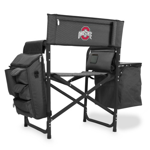 OHIO STATE BUCKEYES – FUSION BACKPACK CHAIR WITH COOLER
