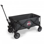 OHIO STATE BUCKEYES – ADVENTURE WAGON PORTABLE UTILITY WAGON, (DARK GRAY)