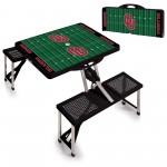 OKLAHOMA SOONERS – PICNIC TABLE PORTABLE FOLDING TABLE WITH SEATS