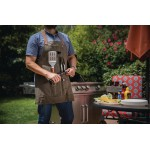 NEW ENGLAND PATRIOTS – BBQ APRON WITH TOOLS & BOTTLE OPENER