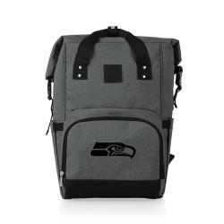 SEATTLE SEAHAWKS – ON THE GO ROLL-TOP COOLER BACKPACK
