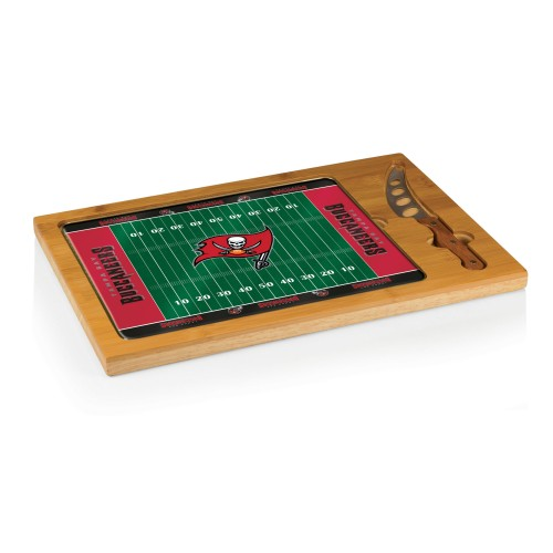 TAMPA BAY BUCCANEERS – ICON GLASS TOP CUTTING BOARD