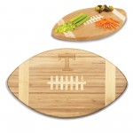 TENNESSEE VOLUNTEERS – TOUCHDOWN! FOOTBALL CUTTING BOARD & SERVING TRAY, (BAMBOO)
