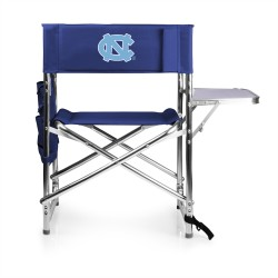 NORTH CAROLINA TAR HEELS – SPORTS CHAIR, (NAVY BLUE)